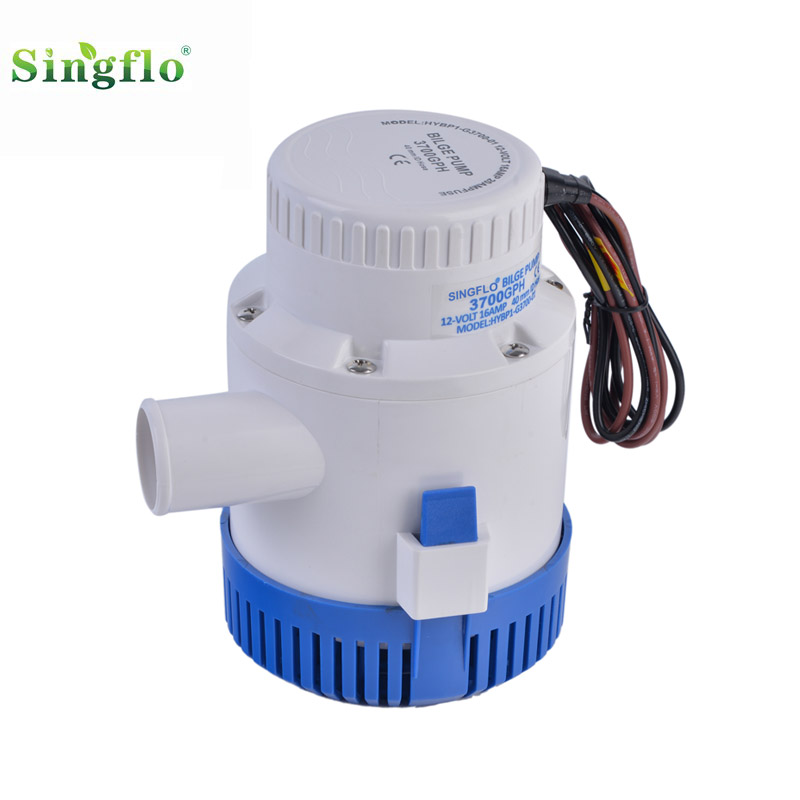 3700GPH 12V Marine Submersible Bilge Water Pump Caravan Campervan Fishing Boat