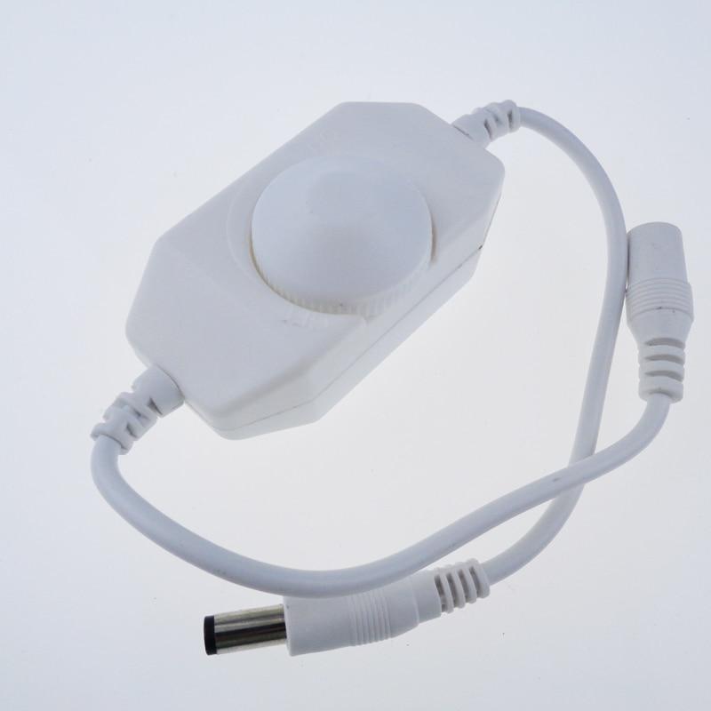 Lights & Lighting 24v 1pcs/lot Lighting Accessories Diligent Mini Led Brightness Adjust Switch Dimmer Controller For 3528 5050 5630 Single Color Led Strip Light 12v