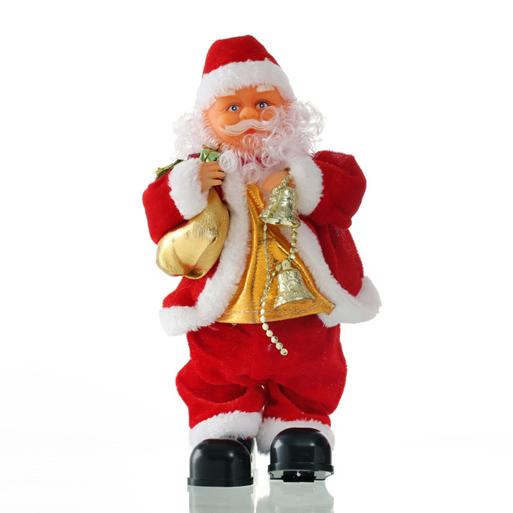 New Christmas Gifts Christmas Music old man 30cm Electric Dancing ...