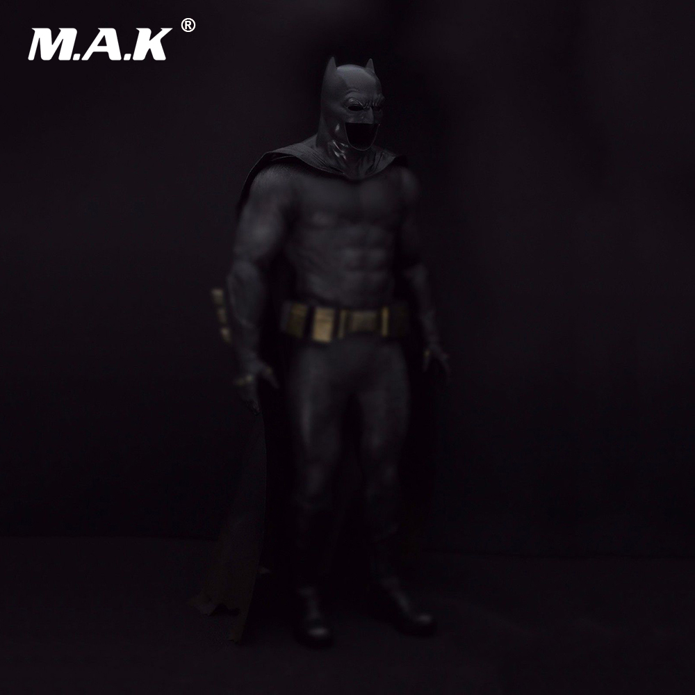 1/6 Scale Male Cosplay Clthoes Batman Wearable Helmet   & Cloak & Eye Shape for Man Head Model 12 Action Figure Body Doll 1 6 scale figure accessories doll female head for 12 action figure doll head shape fit phicne