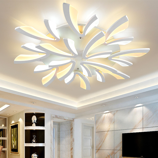 Moderna luce di soffitto plafoniere lamparas de techo - Lamparas led techo salon ...