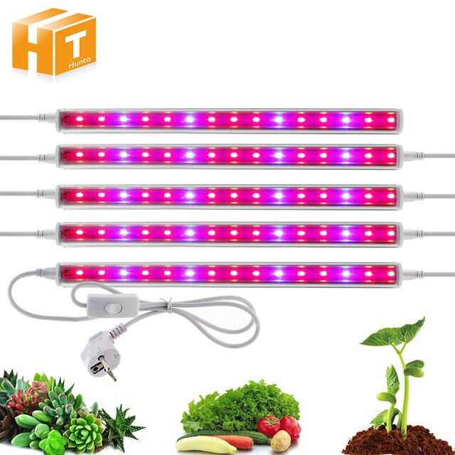 Светодиодный светать полный спектр 5730 T5 трубки светодиодный Лампа внутреннего освещения для теплиц гидропоники Системы парниковых светод...