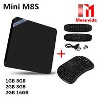 Mini M8S Mini M8S II TV Box Android 5 1 Amlogic S905X WiFi Bluetooth 4 0