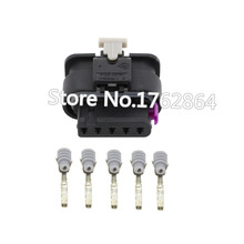 5 PCS Tyco Amp Pin DJ7052-1.2-21 Female Motorcycle Electric Connectors Sealed Waterproof Auto Plug 1-1718806-1 / 4F0 973 705