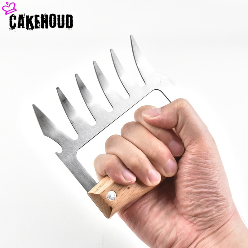 CAKEHOUD Multi function Bear Claws for Decomposition of Meat Useful for Transporting and Fixing Meat Made of Steel 4