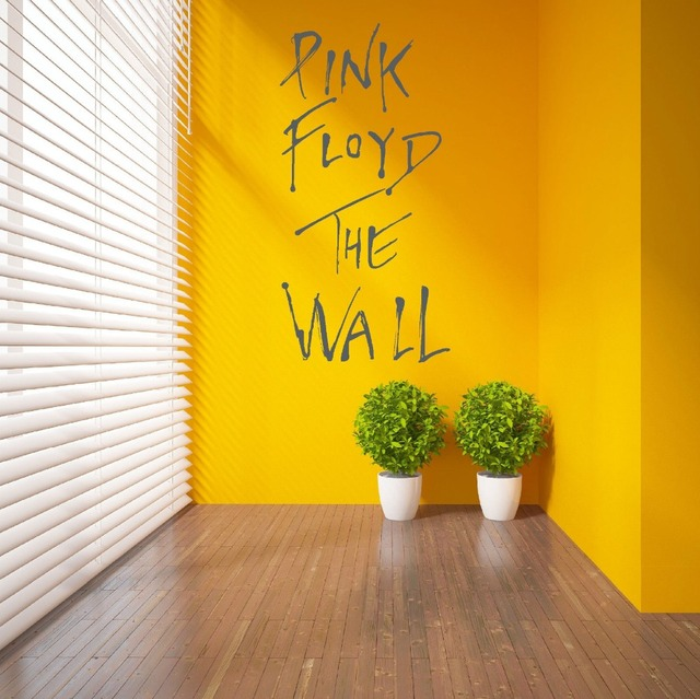Wall Stickers Room Decor Art Decals Removable Vinyl Wallpaper PINK ...
