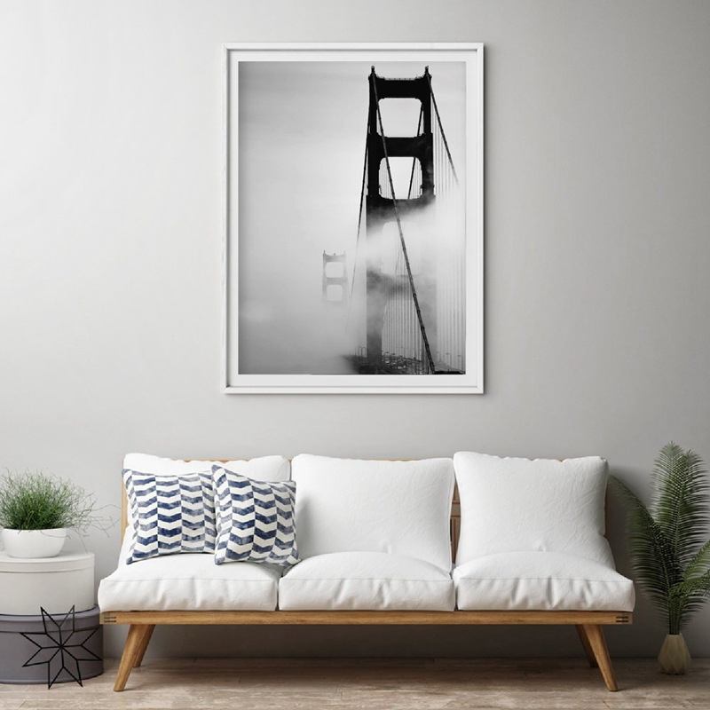 Modern Architecture Wall Art Prints Living Room Decor