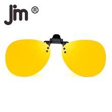6c13ce8e05 JM Retro Clip on Rimless Sunglasses Polarized Flip up Lenses Eyeglasses Men  Women Sun Glasses(