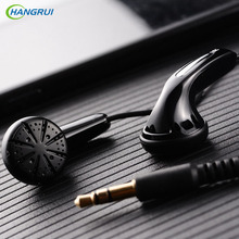 HANGRUI Qian25 Flat Head Plug Earphone In ear Earbud portable sport headset Dynamic Bass HIFI fone de ouvi For xiaomi Smartphone