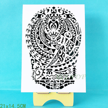 Waterproof Temporary Tattoo Sticker cool Tribal totem fake tatto flash tatoo tatouage Stickers hand arm leg for girl women men