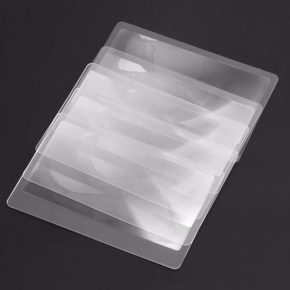 10vnt. Padidinamojo stiklo objektyvas Skaidraus stiklo kortelė 3x - Matavimo prietaisai - Nuotrauka 5
