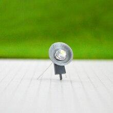 8pcs 1:87 Model train Railway Floor Lamppost Spotlights Lamp Scale LEDs NEW Building Miniature light