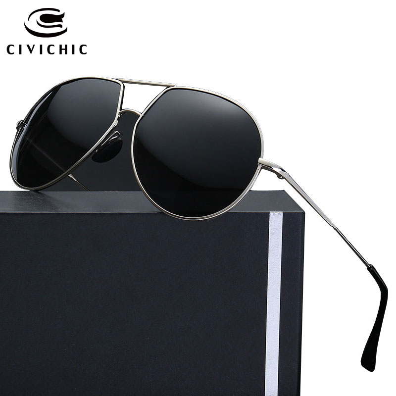 47fc5b4ad3 Detail Feedback Questions about CIVICHIC Stylish Polarized Sunglasses Men  Driving Glasses Blue Film Plated Eyewear Classic Gafas Police Pilot Oculos  De Sol ...
