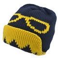 2016 Marca Gorros de Invierno Gafas Sombrero Gorras de Punto Sombreros de Invierno Para Hombres de Las Mujeres Se Divierte el Casquillo Caliente de Esquí Touca Gorro Beanie