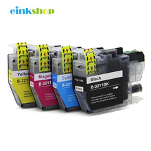 einkshop LC3211 Ink Cartridge For Brother DCP-J774DW DCP-J772DW MFC-J890DW MFC-J895DW Printer Cartridges