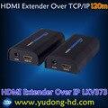 3.0 В LKV373 HDMI Удлинитель 120 М По Локальной Сети Излучатель + Приемник 120 м