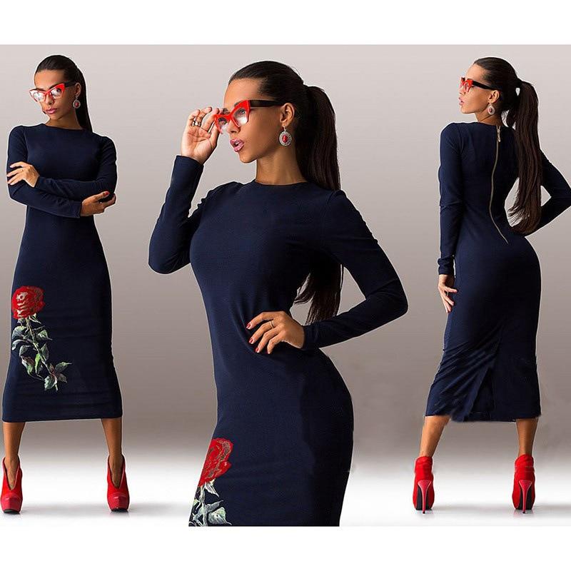 Ebay long sleeve black dress