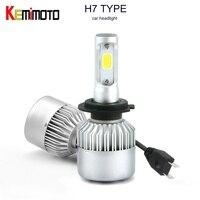 KEMiMOTO H7 H1 H4 HB2 9003 H8 H9 H11 LED Bulb Light Headlights LED Lamp Car