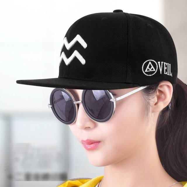 New Arrive Twelve Constellations Pattern Hat Fashion Female Sunhat Outdoor Sport Hip Hop Male Baseball Cap  Embroidery Unisex