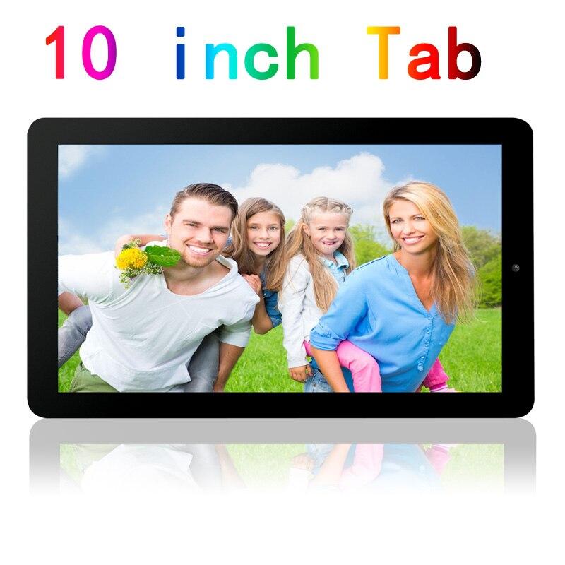 Prix pour Nouveau 10 pouce Grande taille Androd4.4 Tablet Pc 1 GB RAM Et 16 GB ROM Soutien HDMI sortie vidéo FM WIFI Bluetooth Quad Core