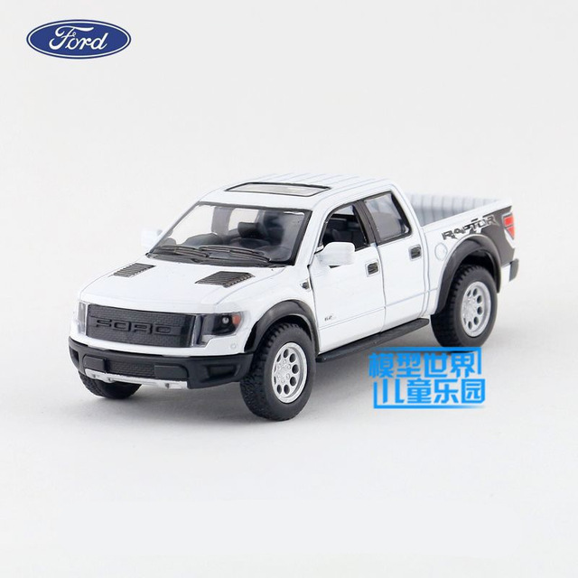 Free Shipping Kinsmart Toy Cast Model  Scale Ford F  Svt Supercrew Pickup Truck Pull Back Car Collection Gift Children