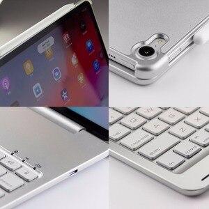 Image 5 - アップル ipad プロ 11 2018 キーボードケース 7 色アルミ合金ワイヤレス bluetooth キーボード pc ケースカバー coque funda