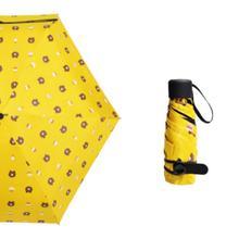 Bulangxiong fully automatic eight-bone three-fold umbrella black gum sunshade wholesale