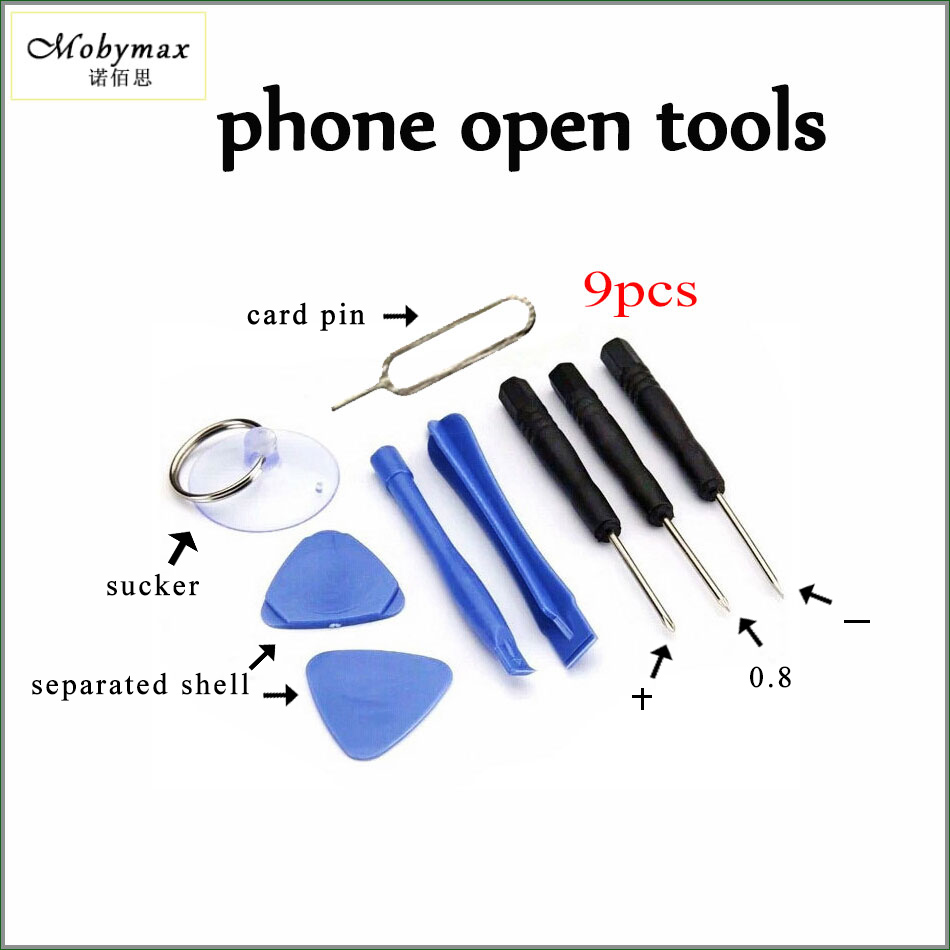 9PCS in 1 Set Hand Repair Phone Disassemble Pry Open Tools Kit Screwdriver for iPhone 4 4s 5 5c 5s 6 6s 6p 6sp 7 7p Touch Screen
