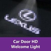 QHCP 2 Pcs del Portello di Automobile Della Luce di Benvenuto HA CONDOTTO il Proiettore Laser Dedicato Spina HD Avvertimento Ombra Luce Della Decorazione Per La Lexus LS350 500 H 2018 Adesivi per auto    -