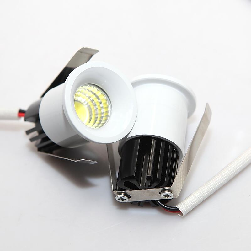meet 2b149 10744 US $184.8 23% OFF|Wholesale 5W MINI LED Cabinet Light LED Downlight LED  Spot light for Shopping Mall Size 35MM Cold/Warm White AC110 240V/DC12V-in  ...