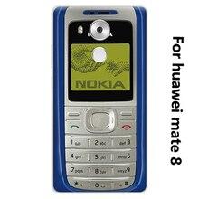 Роскошные личность чехол для Huawei mate 8 6.0 дюймов Ла caja дель telefono Высокое Качество PC Phone Чехол Для Huawei mate 8