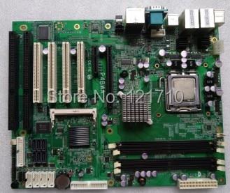 Industrial equipment board P4BWA LGA775 dual core platform with dual NICs and dual ISA solts volteco bigcat dual