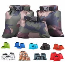 3-Pack 1.5L+2.5L+3.5L Dry Sack Waterproof Floating Dry Gear Bags for Boating Kayaking Fishing Rafting Swimming Camping Canoeing