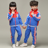 Blue Adult Children S Primary School Uniforms Teenage Autumn Sports Costumes Outdoor Clothing Kids Tracksuit Outfits