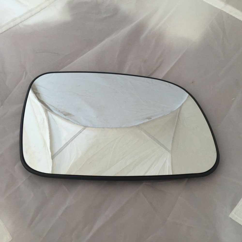 Mirror Glass w Backing Plate Convex RH Right Passenger Side for Jeep Wrangler