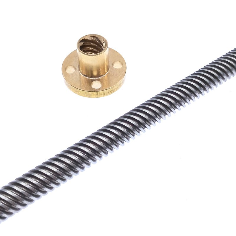 2 12,14 10 16mm 8 4 Anti-backlash Lead Nut T8 T10 T12 Lead 1