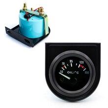 Автомобильные Масляные температурные датчики 50-150C Температура масла с датчиком черного цвета белого и янтарного освещения автомобильный измеритель автомобильные аксессуары