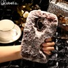 AKABEILA Silicone Phone Cover For Huawei Honor 7 Lite Honor 5C GT3 GR5 Mini Honor5C Honor7 Lite Case Rabbit Fur Hair TPU Cover