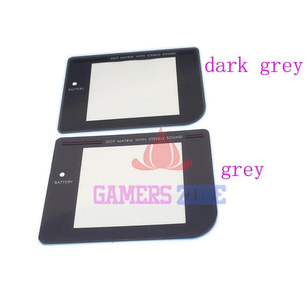 7b6690c74 10 unids lente de pantalla de protección de reemplazo para Gameboy original  sistema gris y gris oscuro