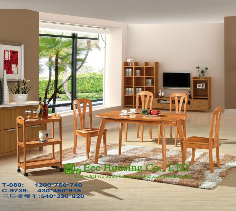 T-080,C-9739  Luxurious Solid Dining Chair,Solid Wood Dinning Table Furniture With Chairs/Home furniture