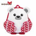 Рюкзак NOHOO для детей ясельного возраста  водонепроницаемый рюкзак с 3D рисунком милого медведя  рождественский подарок для маленьких девоче...