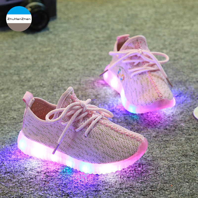 2017 Hot children casual shoes baby boy and girl sport