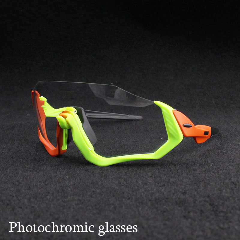 2018 Tour de France Photochromic Sunglasses Auto Lens TR90 Sports Cycling Discoloration Glasses Men Women MTB Road Bike Bicycle