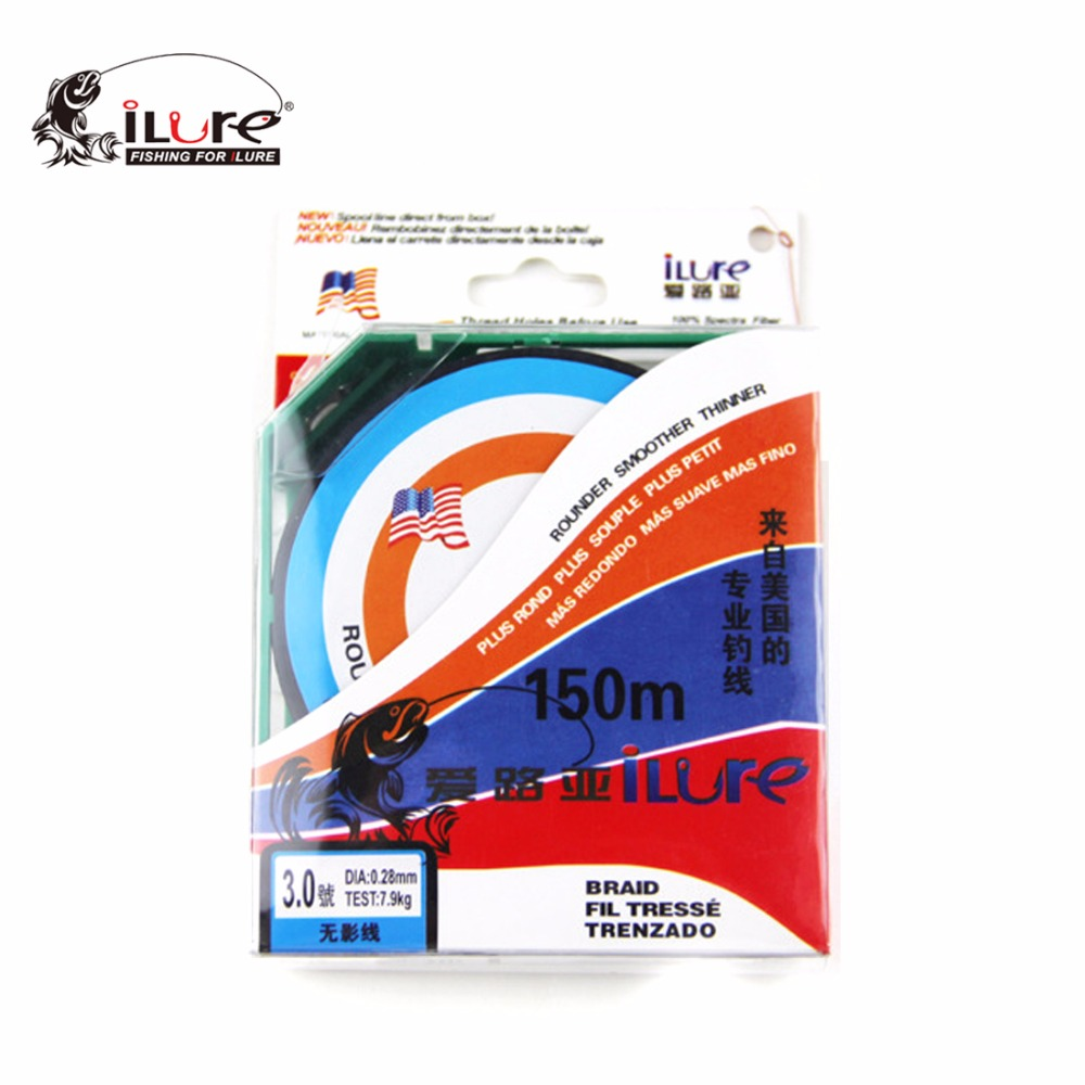 iLure Fluorocarbon Fishing Line 150m 3 Colors Fly Fishing Line ...
