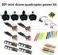DIY quadcopter power kit CC3D + D2204 2300KV + EMAX BLheli 12A ESC+5045/6045 propellers for QAV250 / nighthawk 250 / Robocat 270