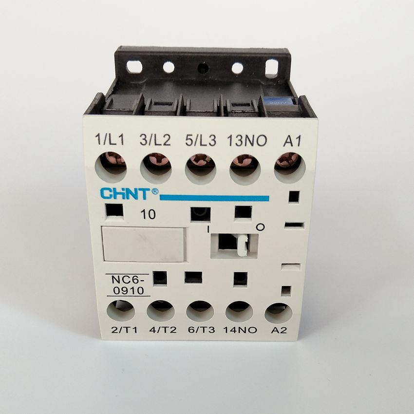 CHINT AC Contactor NC6-0910 AC220V  Normally OpenCHINT AC Contactor NC6-0910 AC220V  Normally Open