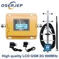 ЖК-дисплей GSM 900 МГц UMTS 2G/3Gcelular повторитель сигнала мобильного телефона booster,900 МГц усилитель + антенна Yagi /Omni