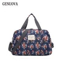 GENUOVA Sportswear Women Fashion Brand Shoulder Large Capacity Travel Bag Hand Bag Handbag Waterproof Travel Bags