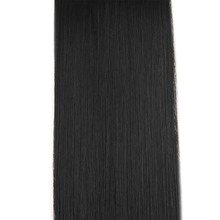 Pre Bonded U Tip Hair Extensions Color#1 Jet Black 1g/Strand 50g 100%Remy Human Hair Extensions U Tip Hair Extensions