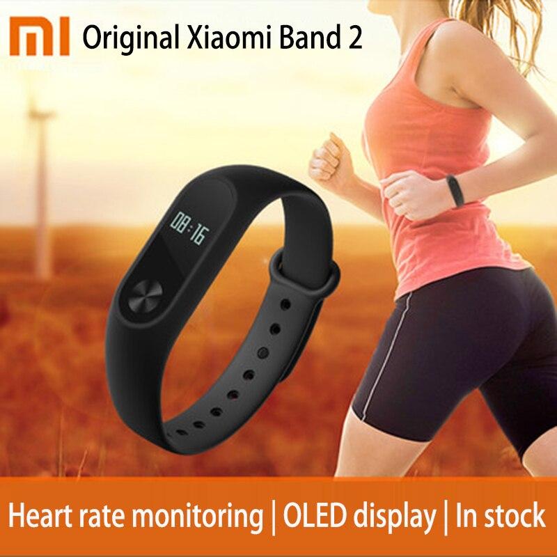 In stock Original Xiaomi Mi Band Mi band Tracker Heart Rate Monitor